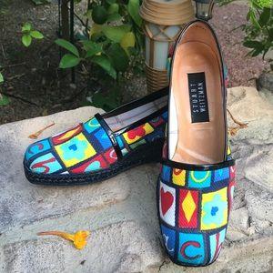 STUART Weitzman  Colorful Espadrilles
